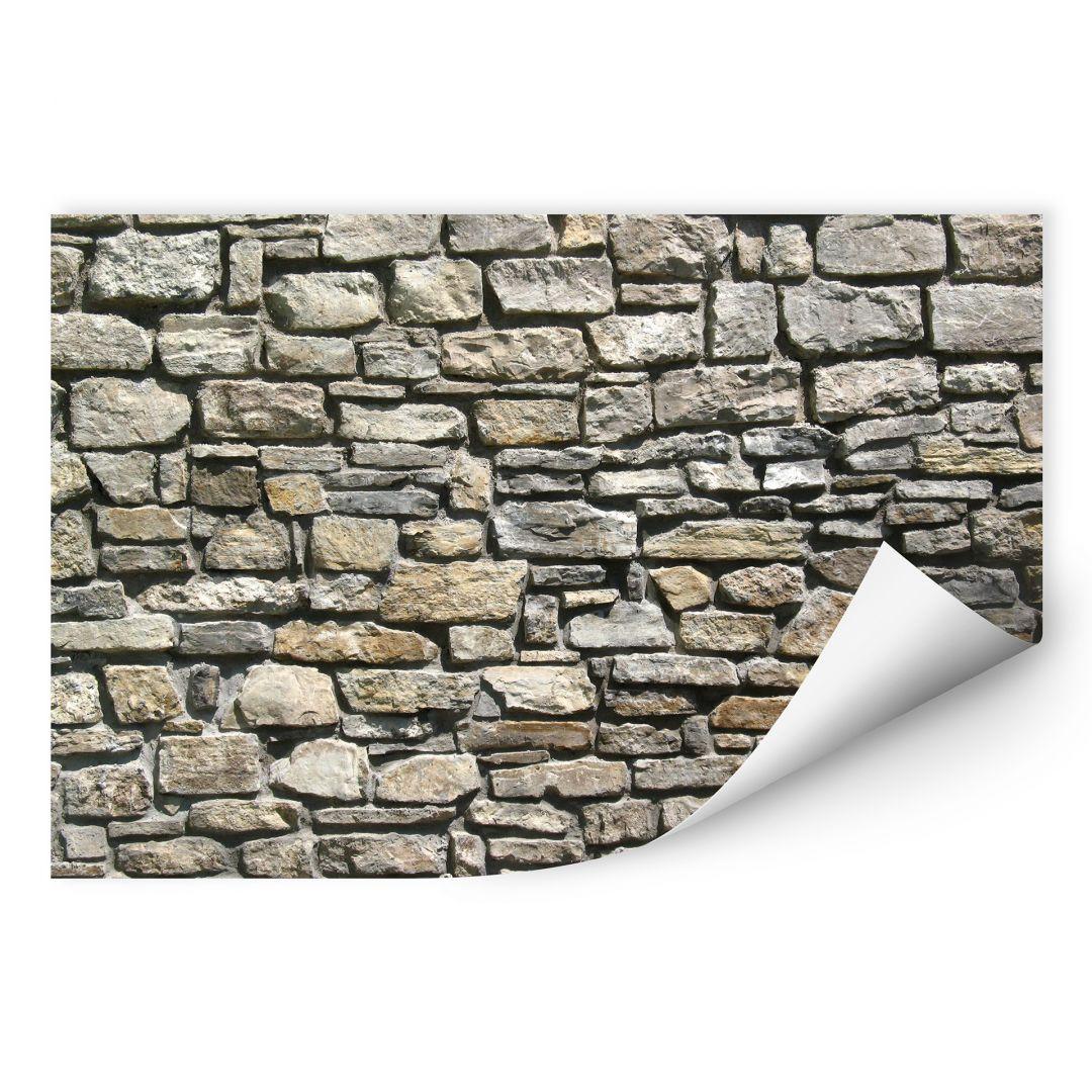 Wallprint W - Natursteinmauer