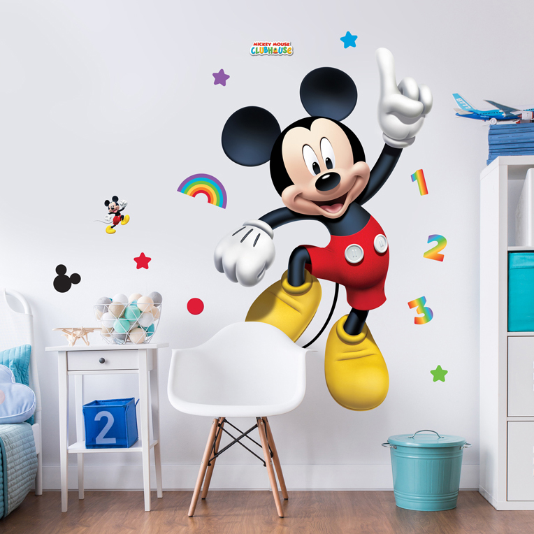 Sticker mural mickey mouse - Wandsticker mickey mouse ...