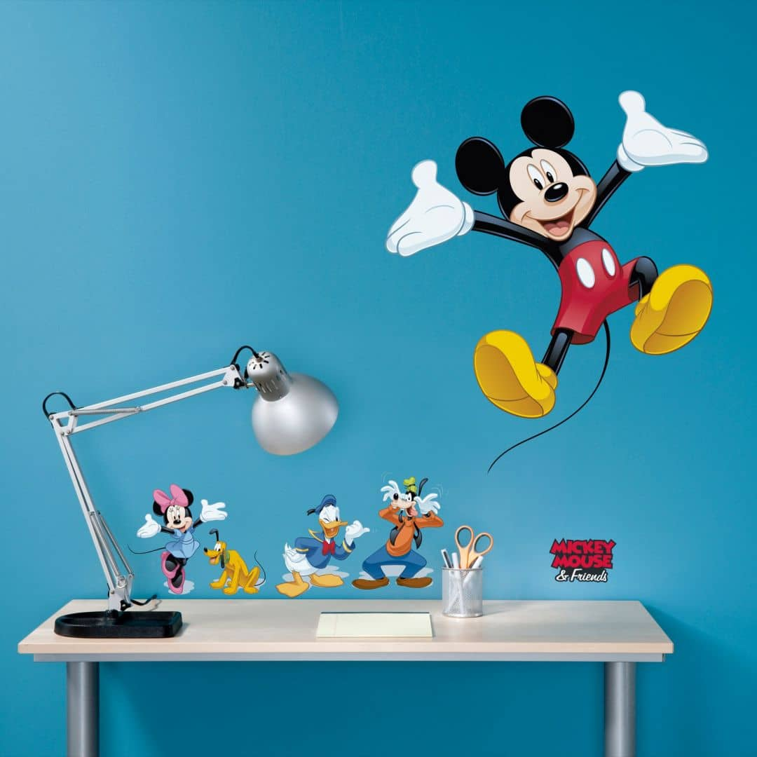 Mickey Mouse And Friends Wall Sticker Wall Art Com