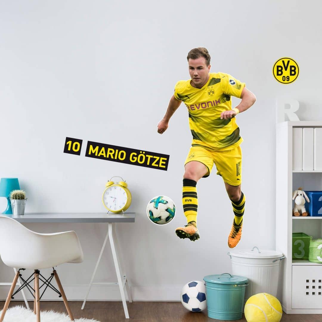 Wandsticker BVB - Mario Götze