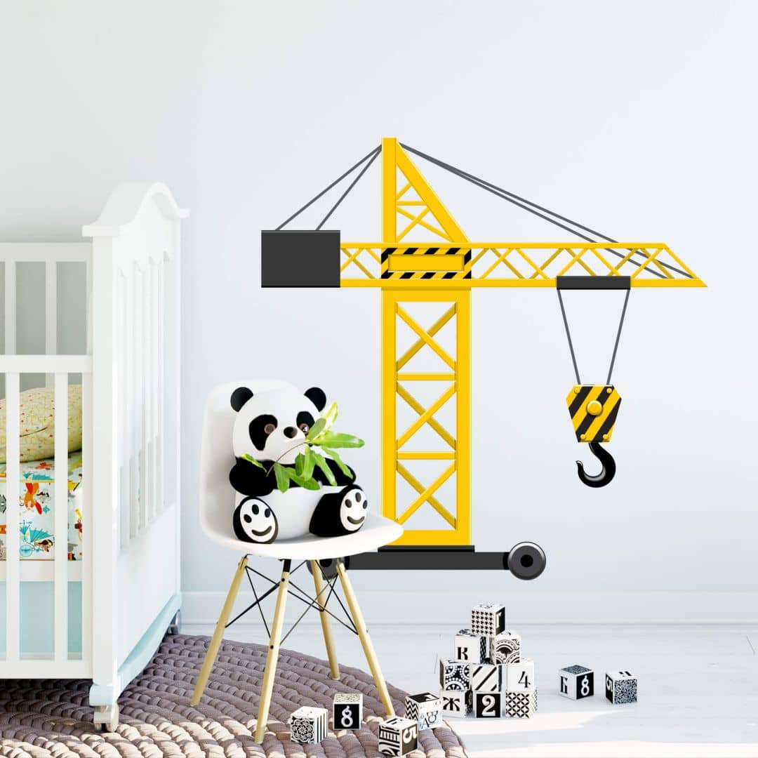 Wall sticker Crane