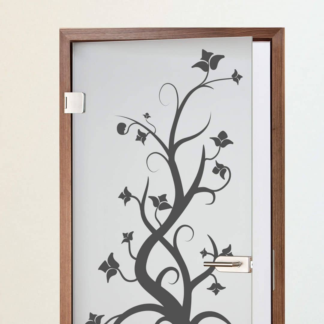 Adesivi per porte rosapina wall for Adesivi per porte in legno