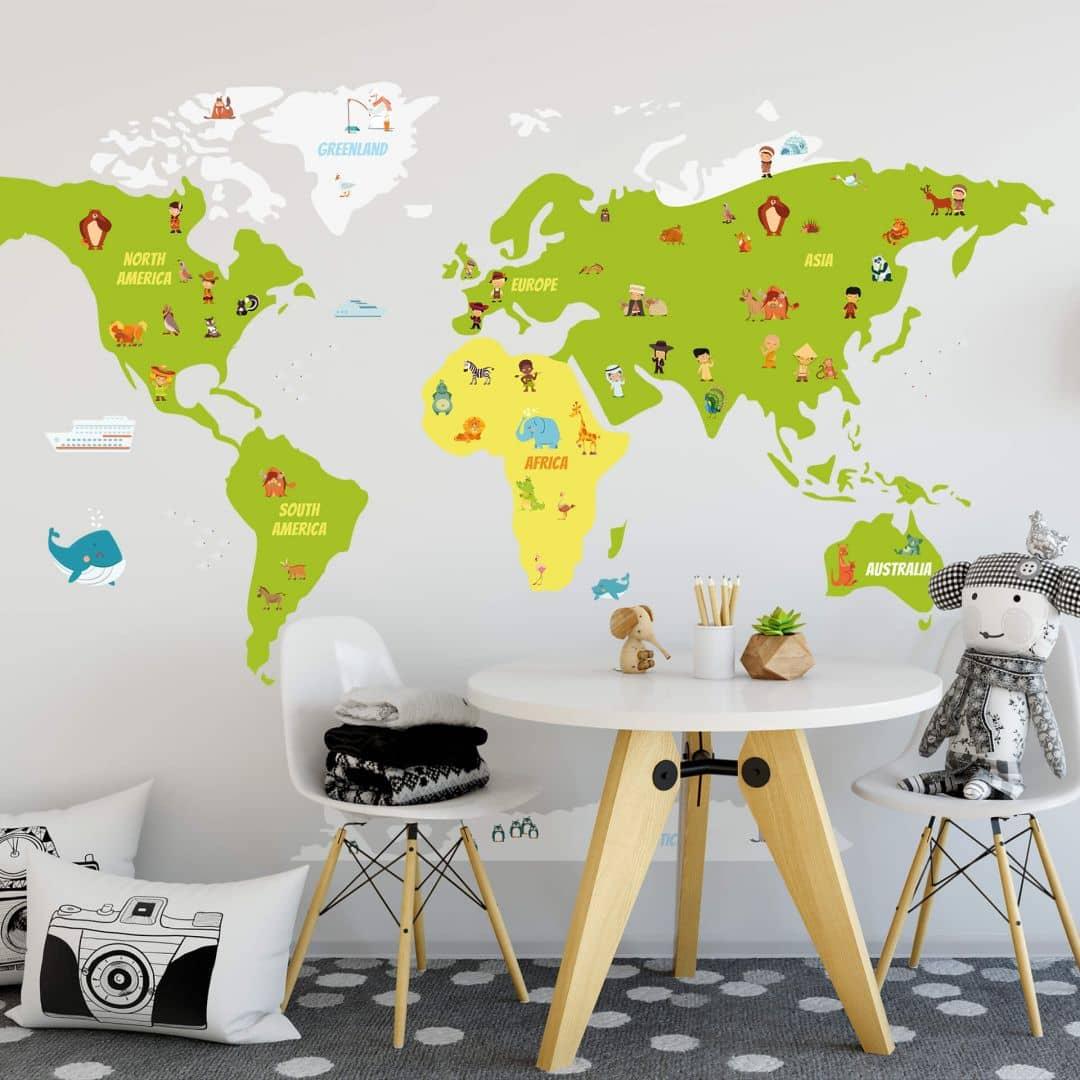 Außergewöhnlich Wandtattoo Weltkarte Dekoration Von Sie Haben Folgendes Produkt Zur Vergleichsliste Hinzugefügt.