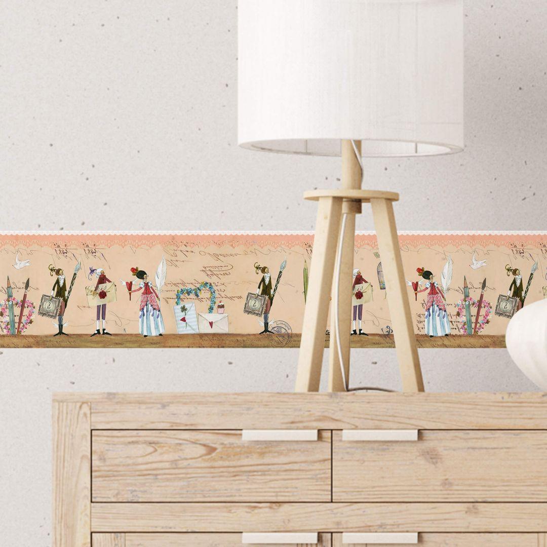 Bordo decorativo leffler poesia wall for Bordi decorativi per pareti