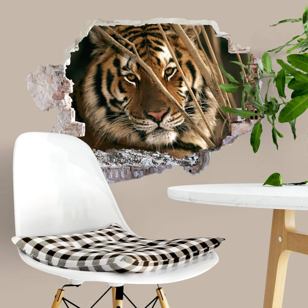 3d Wandtattoo Ng Tiger Wall Art De