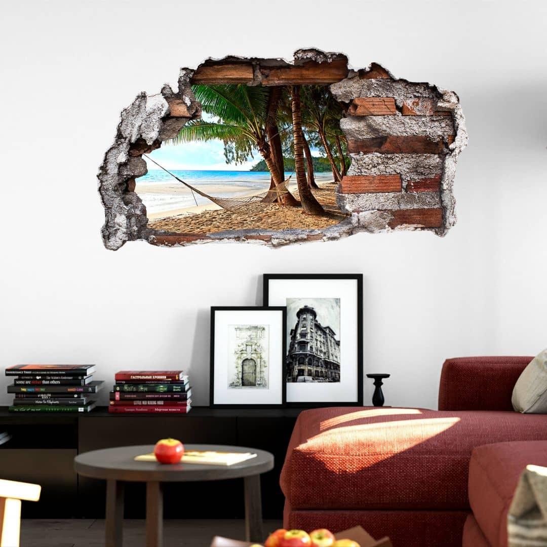 3D Muursticker Hangmat