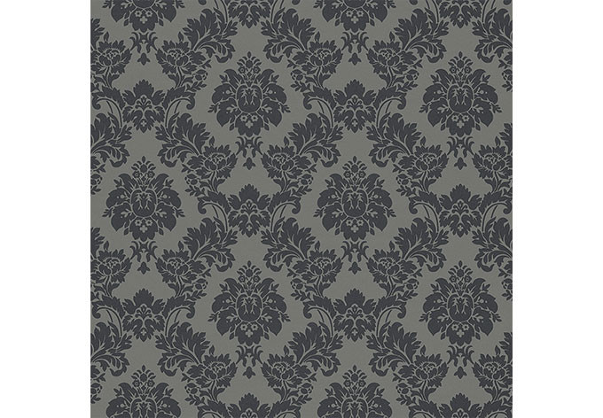 rasch vliestapete sophie charlotte muster 440522 grau wall. Black Bedroom Furniture Sets. Home Design Ideas