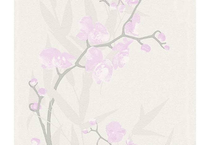tapete grau rosa tapete vlies gestreift rosa grau as. Black Bedroom Furniture Sets. Home Design Ideas