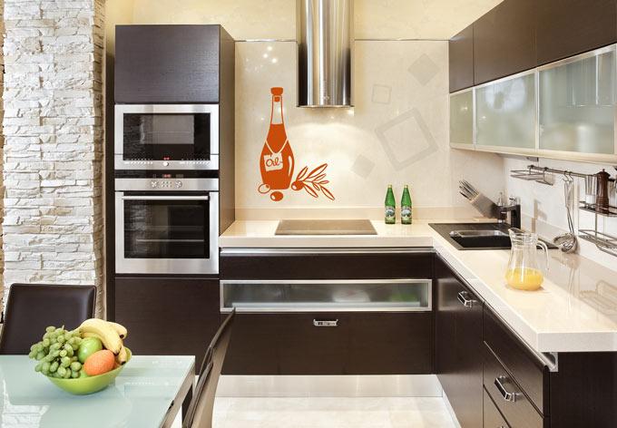 wandtattoo oliven l von k l wall art ein sch nes motiv f r die k che wall. Black Bedroom Furniture Sets. Home Design Ideas