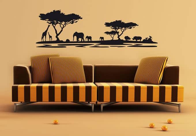 Wandtattoo Afrika 5