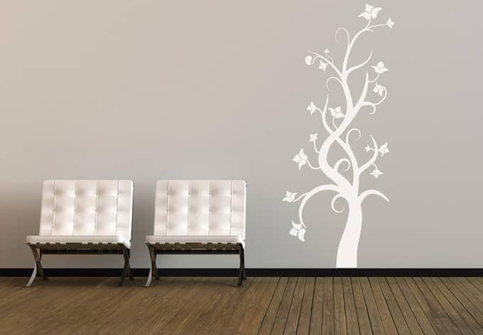 wandtattoo dornr schen wandtattoo mit m rchenbaum wall. Black Bedroom Furniture Sets. Home Design Ideas