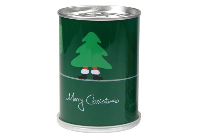 jetzt eine tanne z chten weihnachtsbaum in der dose. Black Bedroom Furniture Sets. Home Design Ideas