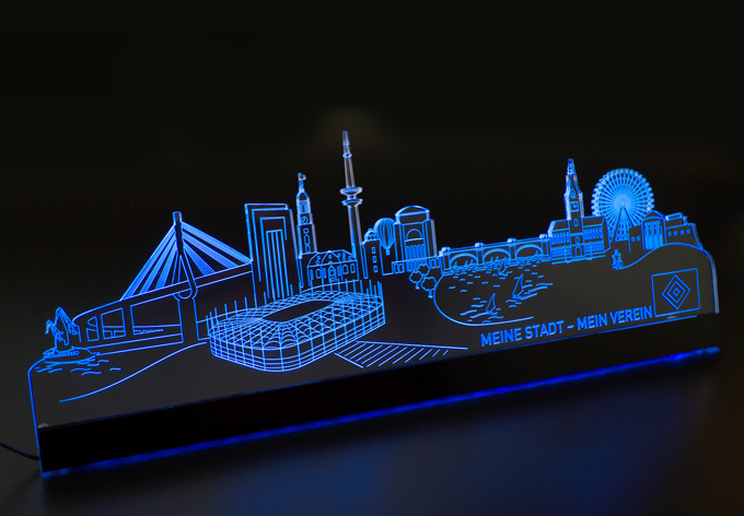 aleniolights hsv skyline led skyline von k l wall art wall. Black Bedroom Furniture Sets. Home Design Ideas