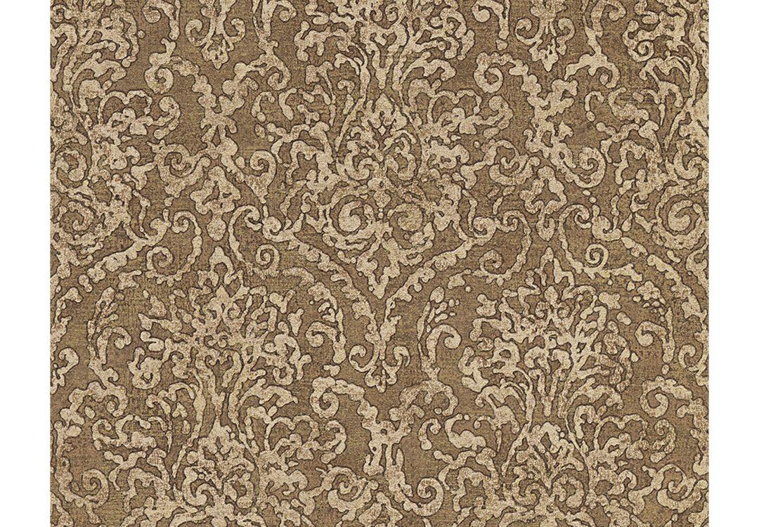 Mustertapete braun alles ber wohndesign und m belideen for Tapete natursteinoptik
