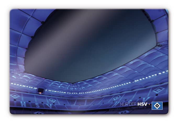 hsv volksparkstadion wandbild f r fans wall. Black Bedroom Furniture Sets. Home Design Ideas