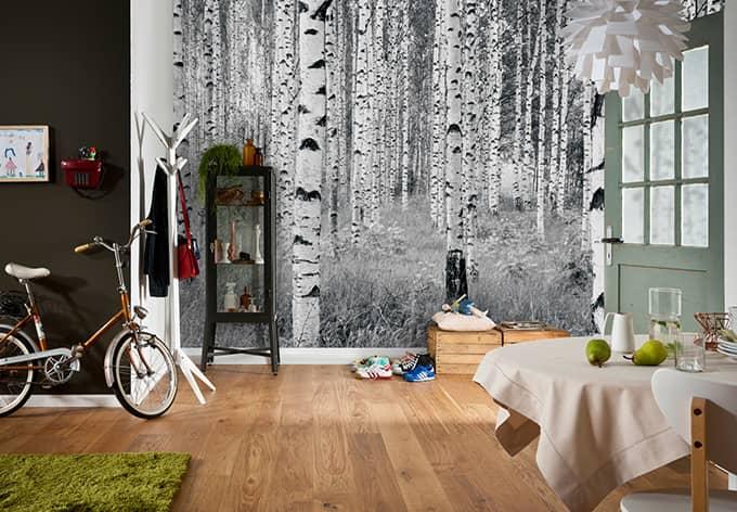 fototapete vliestapete woods xxl4 023 wall. Black Bedroom Furniture Sets. Home Design Ideas