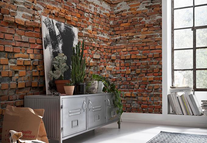 fototapete vliestapete bricklane xxl4 025 wall. Black Bedroom Furniture Sets. Home Design Ideas