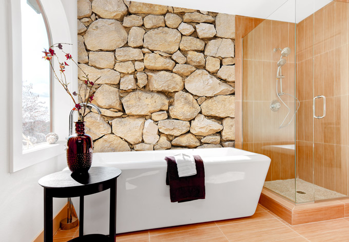 fototapete mauer maueroptik als dekoration wall. Black Bedroom Furniture Sets. Home Design Ideas