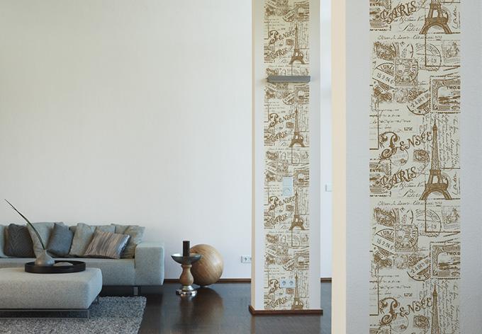 Livingwalls Dekopanel Panel Beige Brown Wall