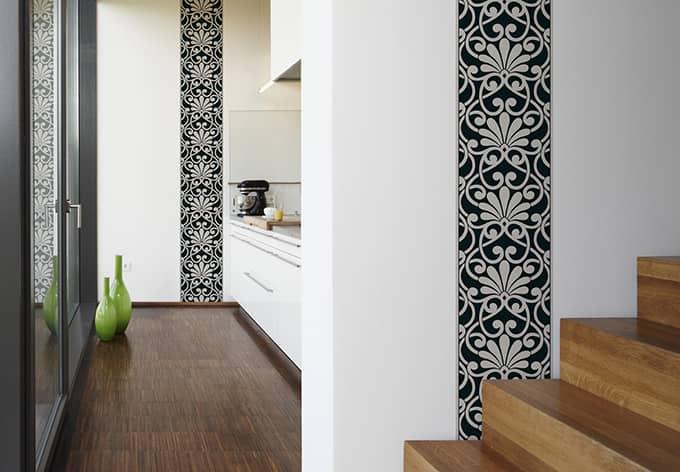 livingwalls dekopanel panel grau schwarz wall. Black Bedroom Furniture Sets. Home Design Ideas