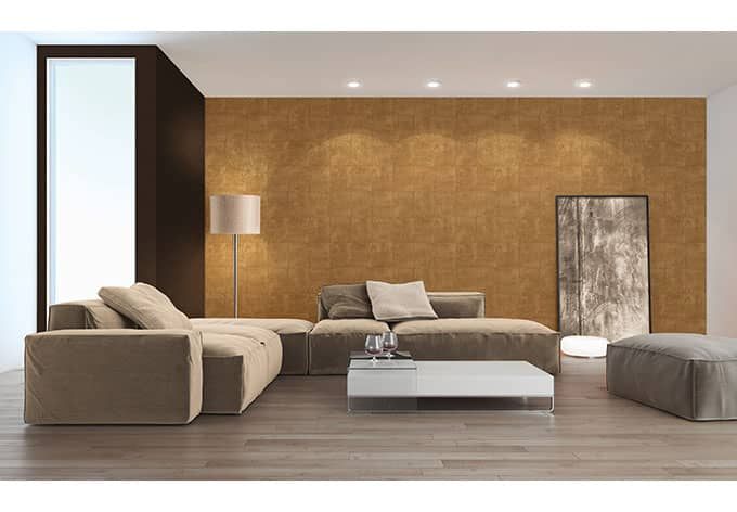 livingwalls tapete titanium 306533 braun metallic wall. Black Bedroom Furniture Sets. Home Design Ideas