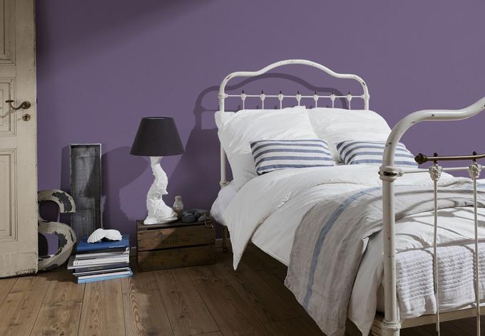 a s cr ation mustertapete vliestapete meistervlies die glatte wand 309181 violett wall. Black Bedroom Furniture Sets. Home Design Ideas