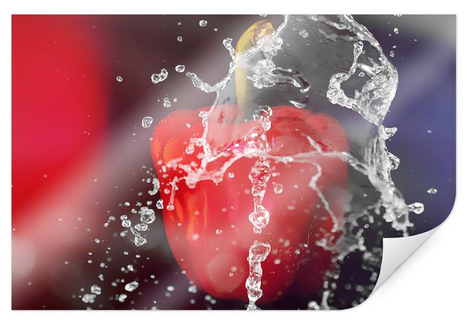 Poster Fresh Paprika