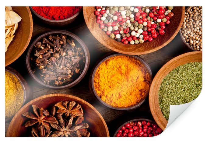 Poster spices