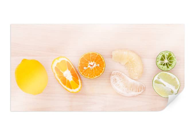 Poster Lemonade Recipe - Panorama