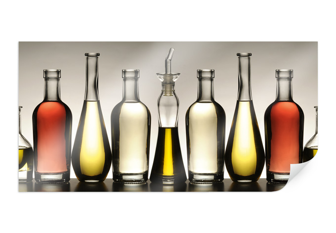 Poster oil and vinegar-Panorama