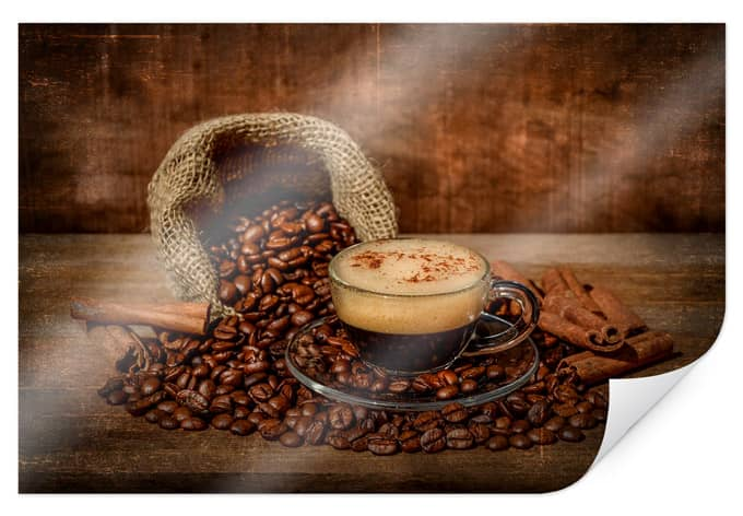 Poster Perfoncio - rustic coffee