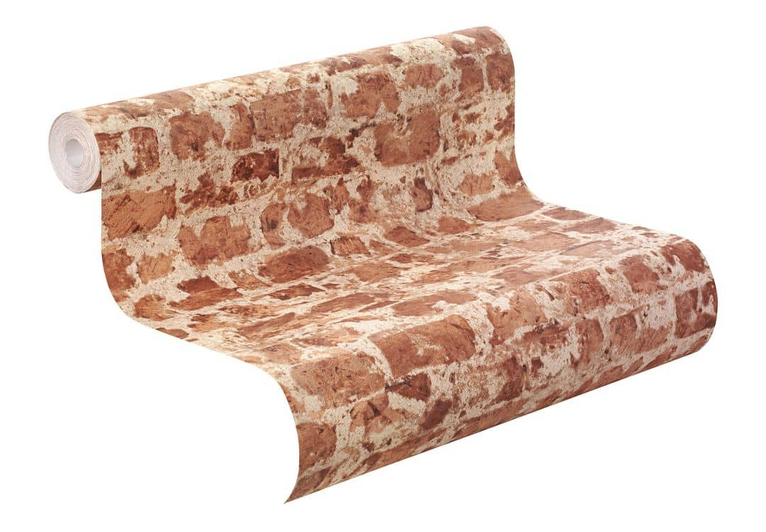 rasch vliestapete factory ii mauer 446289 rot wall. Black Bedroom Furniture Sets. Home Design Ideas