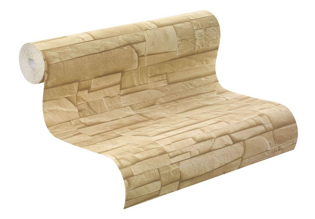 rasch vliestapete factory ii mauer 475043 beige wall. Black Bedroom Furniture Sets. Home Design Ideas