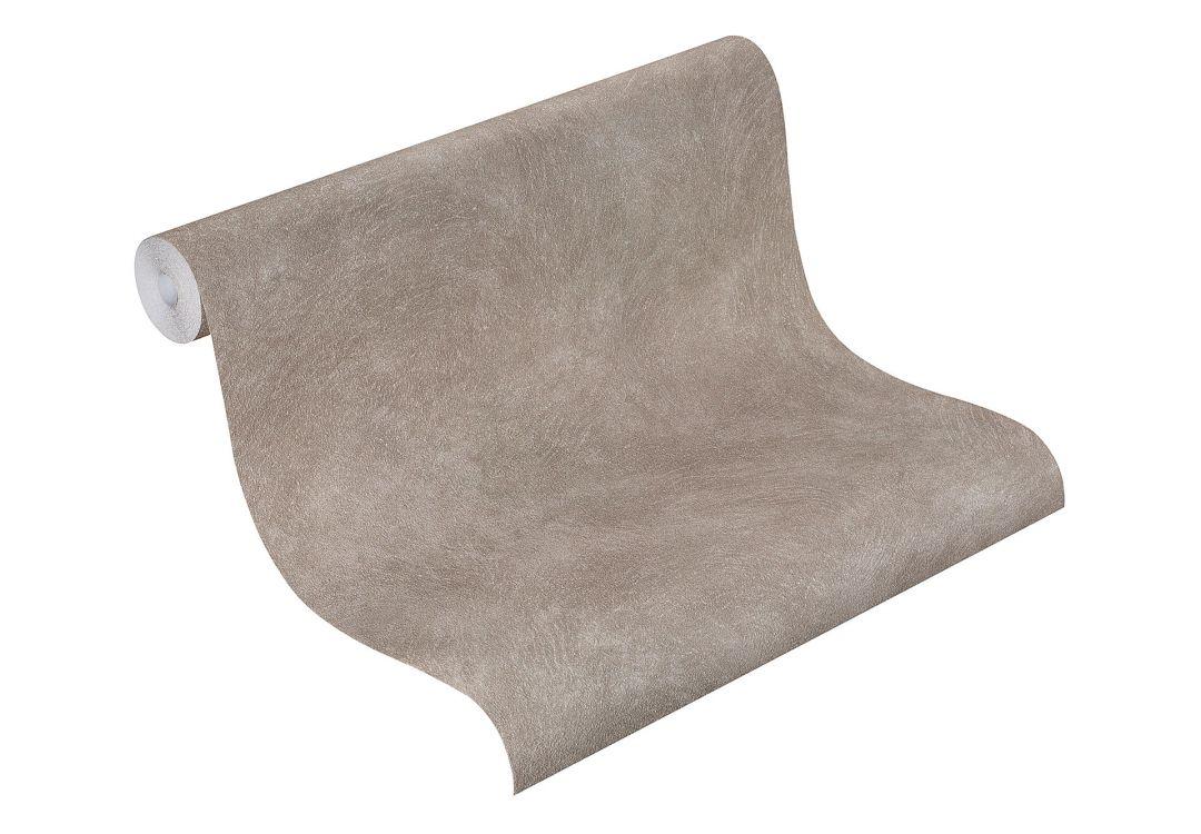 rasch vliestapete metal spirit 2016 uni 588347 grau wall. Black Bedroom Furniture Sets. Home Design Ideas