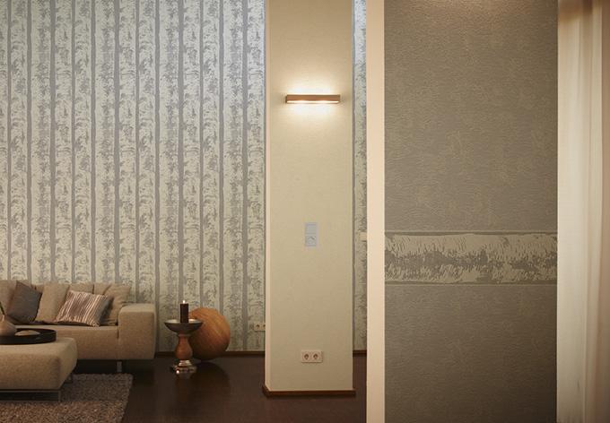 sch ner wohnen vliestapete signalgrau telegrau wall. Black Bedroom Furniture Sets. Home Design Ideas
