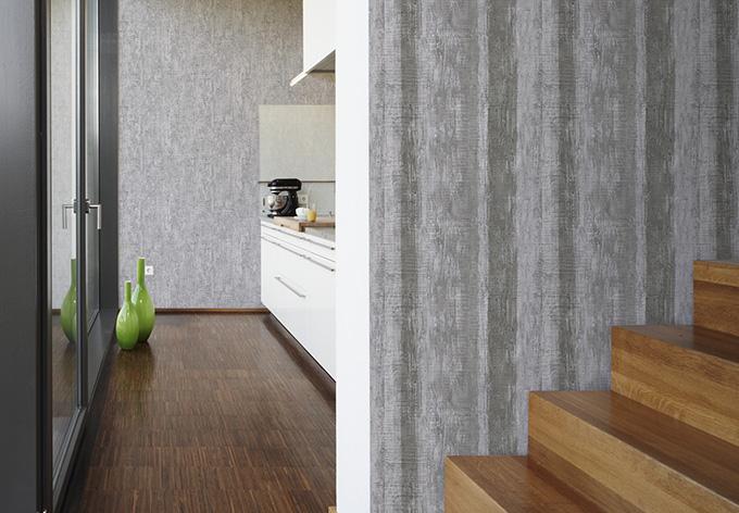 sch ner wohnen tapete quarzgrau telegrau wall. Black Bedroom Furniture Sets. Home Design Ideas