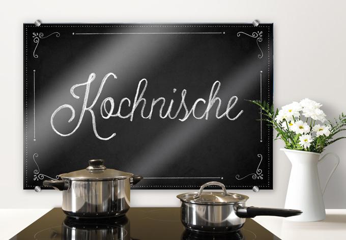 Spritzschutz Kochnische wall art de