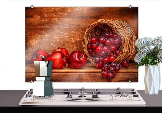 spritzschutz perfoncio rote fr chte wall. Black Bedroom Furniture Sets. Home Design Ideas