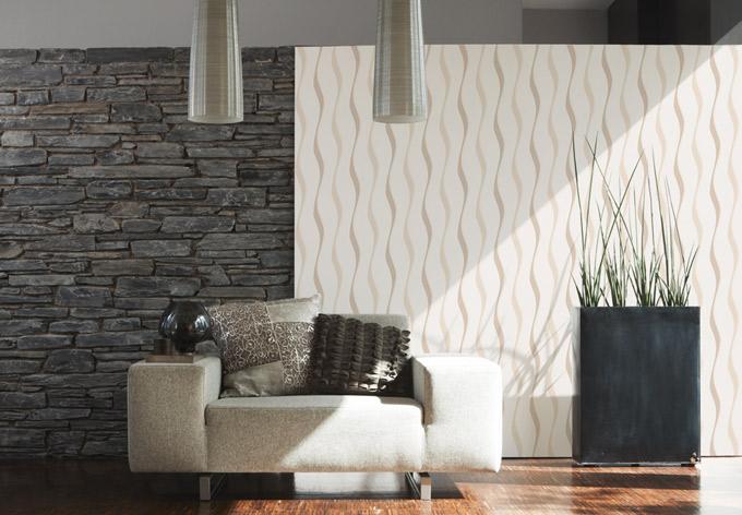 brigitte home vliestapete beige braun creme wall. Black Bedroom Furniture Sets. Home Design Ideas