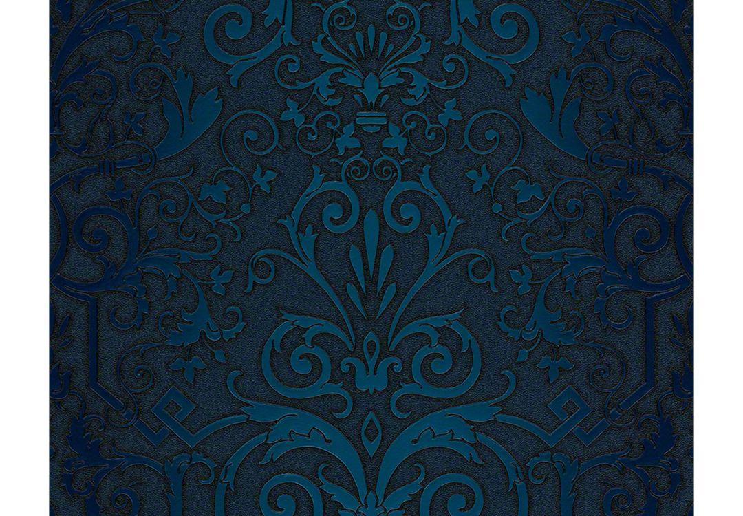 Tapete Blau Muster : versace wallpaper tapete herald blau wall ~ Watch28wear.com Haus und Dekorationen