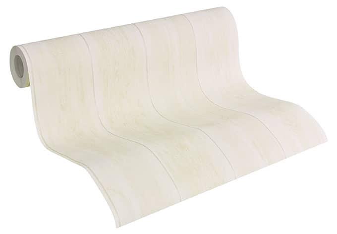 a s cr ation holzoptik tapete naf naf perlwei wall. Black Bedroom Furniture Sets. Home Design Ideas