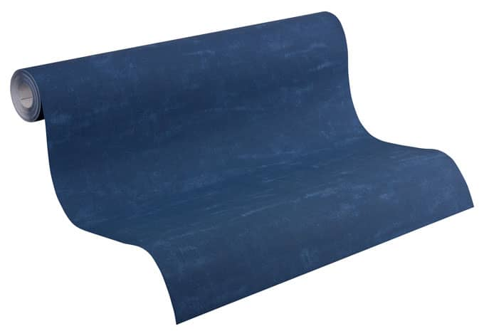 Esprit home vliestapete denim blau wall for Mustertapete blau