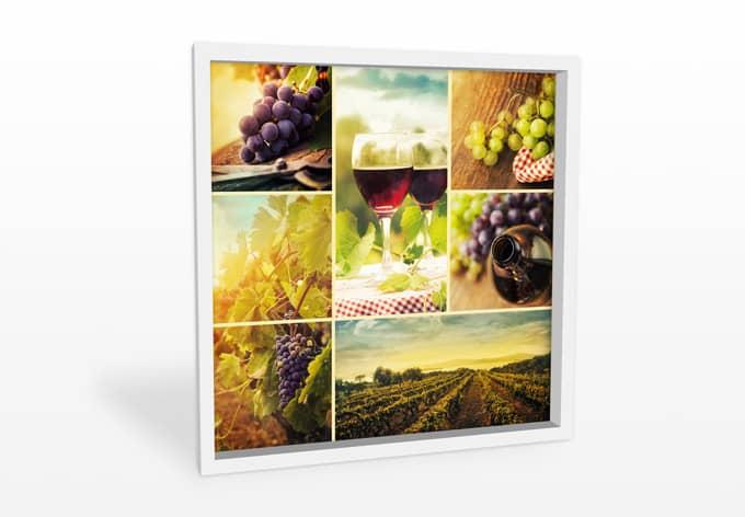 wanddecoratie wijn collage wallartnl