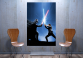 W - Darth Vader vs. Luke Skywalker