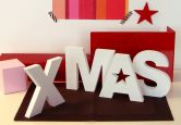Dekobuchstaben - Dekobuchstaben 3D XMAS 60x15cm