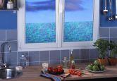 Fensterfolie - Fensterbild Glasmosaik