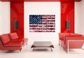 Wallprints - W - Stars and Stripes
