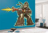 Wandtattoo - Wandtattoo Wookie Comic Style 28x20cm