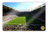 Glasbilder - Glasbild BVB Signal Iduna Park Live Spiel