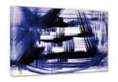 Leinwandbild Preussisch Blau